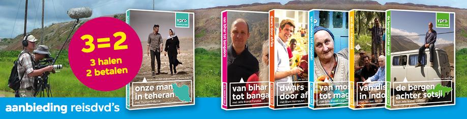 de reisprogramma's van de VPRO