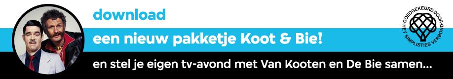 Download een nieuw pakketje Koot & Bie!